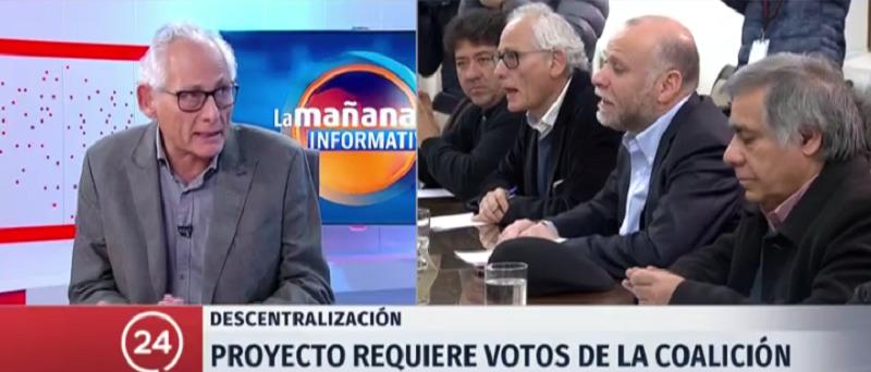 """Gonzalo Navarrete: """"El objetivo central es legislar este año las elecciones de gobiernos regionales"""""""
