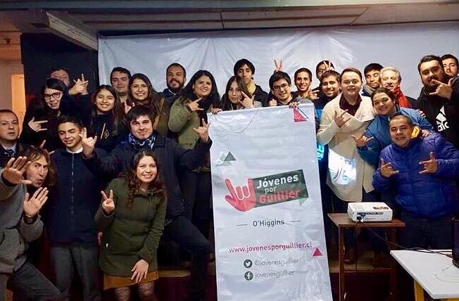 En Rancagua lanzan comando regional Jóvenes por Guillier