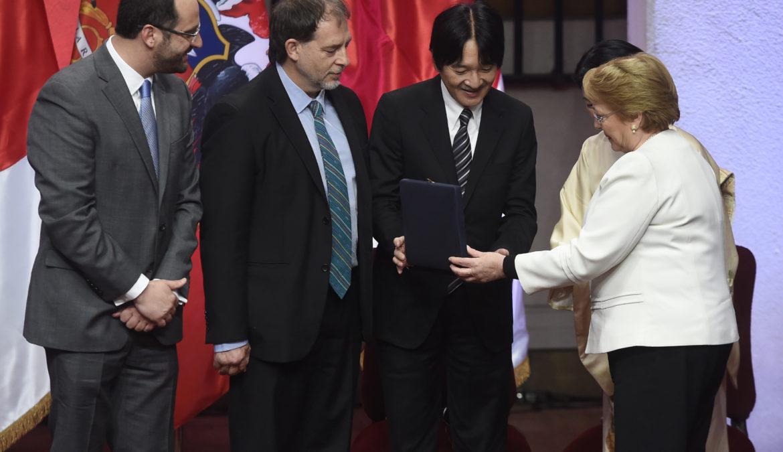 Vicepresidente del Senado propone unir Chile y Japón con cable interoceánico.