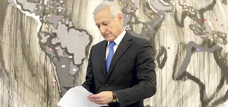 Heraldo Muñoz reflexiona sobre momento político en Chile