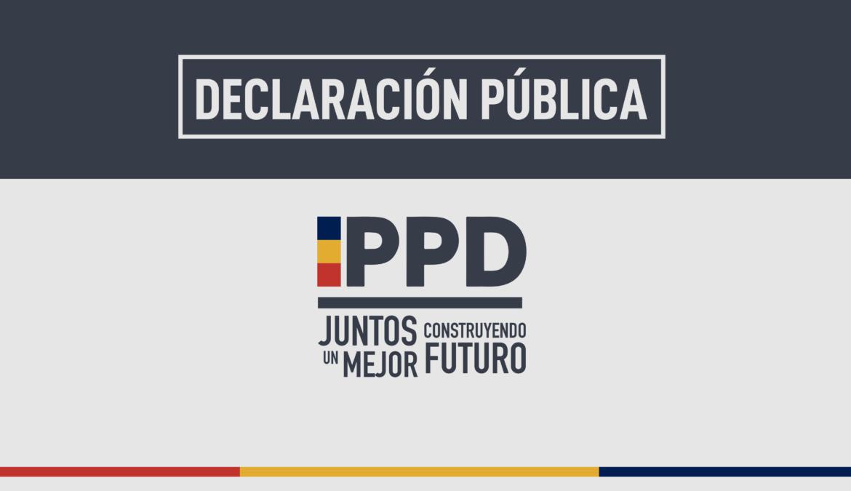 Declaración Pública Mesa Directiva PPD por crisis en Venezuela