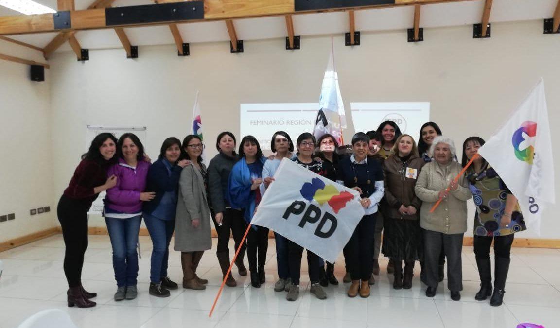 En la Región de Aysén realizan primer feminario con mujeres PPD