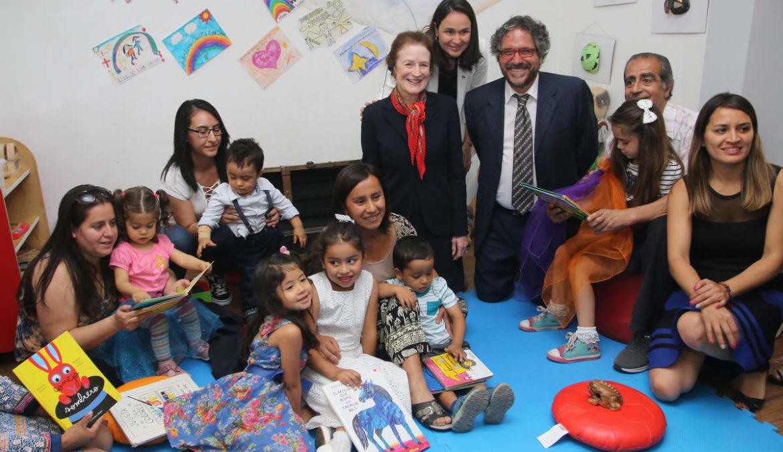 UNICEF destaca gestión en infancia del alcalde de Huechuraba Carlos Cuadrado