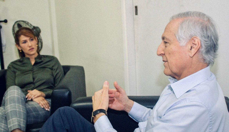 """Muñoz y cita con Guarequena Gutiérrez: """"El PPD es un partido comprometido con la democracia y el respeto irrestricto a los DDHH"""""""