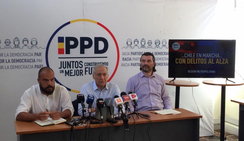 PPD denuncia aumento de crímenes violentos en la capital y propone Servicio Nacional de Víctimas