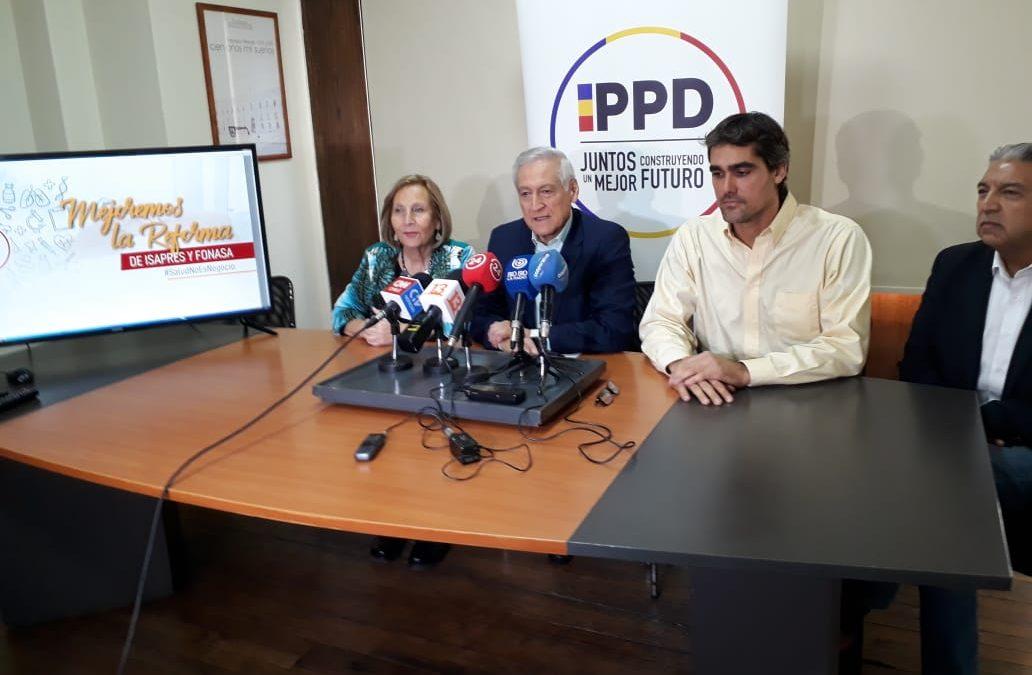 """PPD y proyecto Isapres-Fonasa: """"Es una reforma gatopardo"""""""