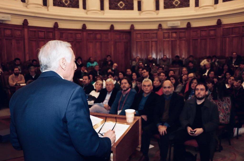 Heraldo Muñoz aboga para que PPD lidere temas ciudadanos y se regule lobby con partidos