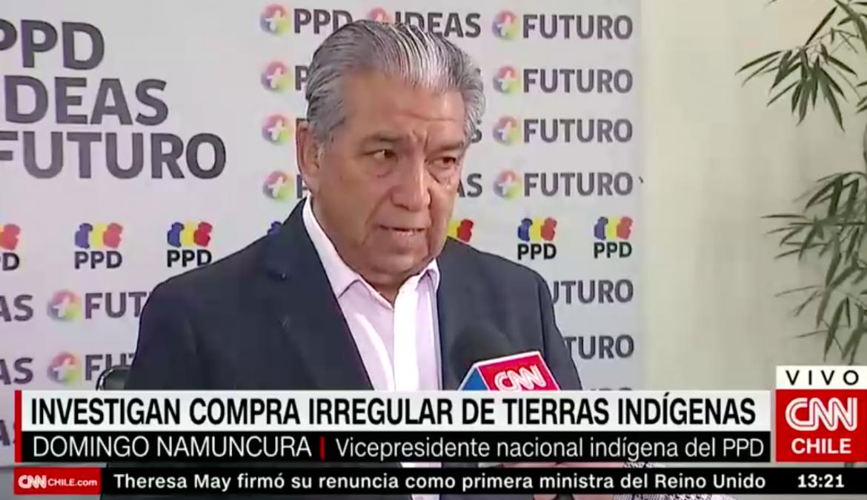 Vicepresidencia Indígena PPD cuestiona compra de tierras y exige suspender consulta
