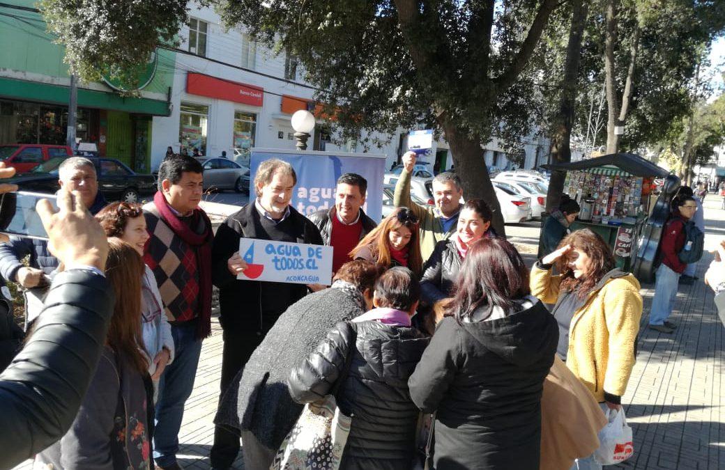 Lanzan campaña nacional Agua de Todos en San Felipe