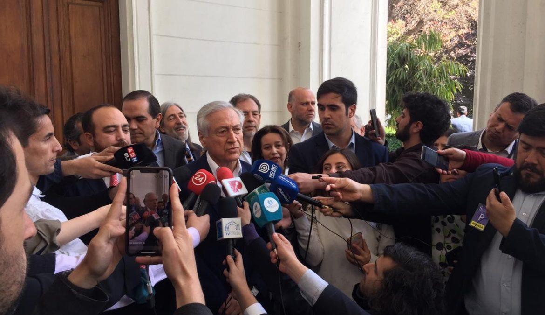 """Heraldo Muñoz al Presidente Piñera: """"No estamos en guerra, no hay una lucha entre hermanos"""""""