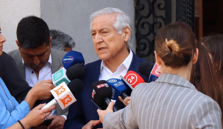 """Heraldo Muñoz: """"No puede haber un acuerdo al margen de la ciudadanía"""""""