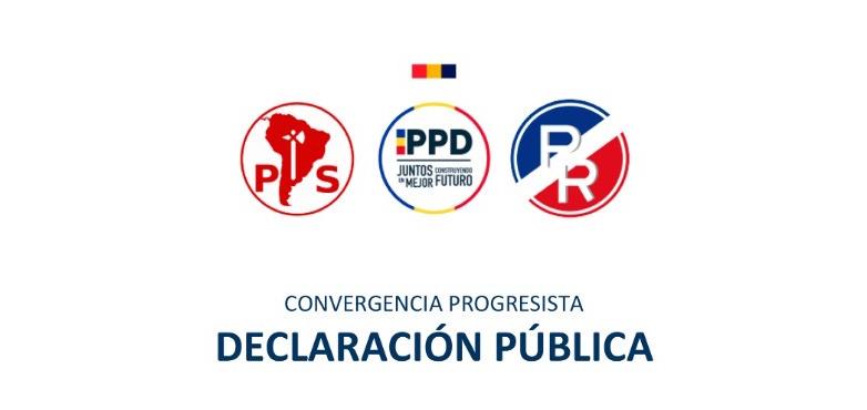 Declaración Convergencia Progresista: Medidas económicas para enfrentar la crisis