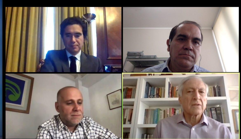 Convergencia Progresista debate su propuesta económica con ministro de Hacienda en encuentro virtual