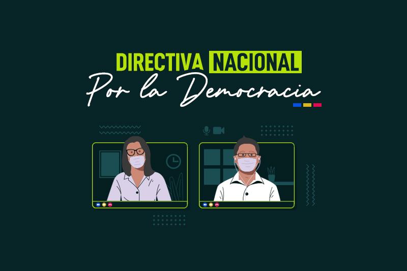 Citación Directiva Nacional Digital del Partido Por la Democracia agosto 2020