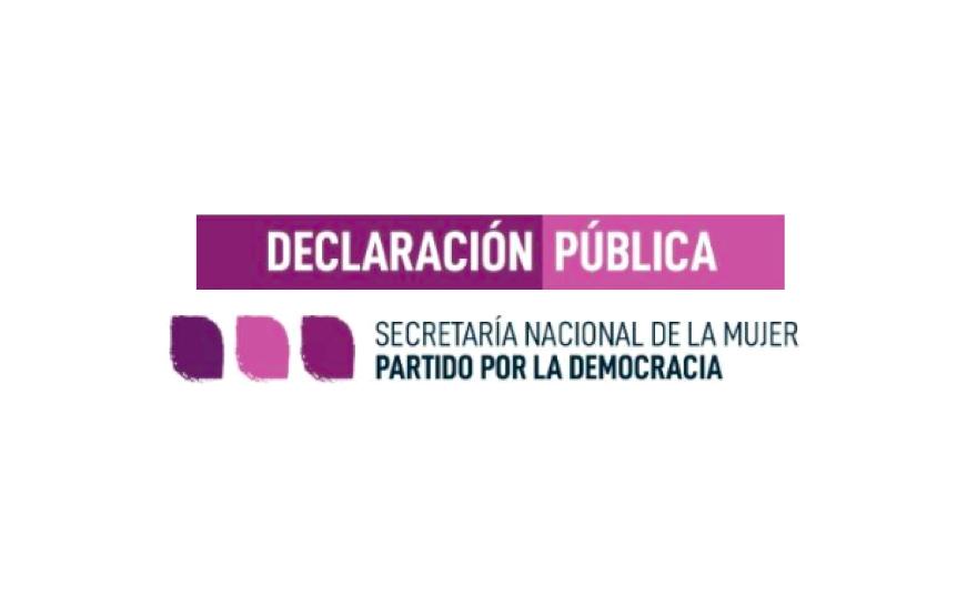 Declaración Secretaría Nacional de la Mujer por femicidio en Linares