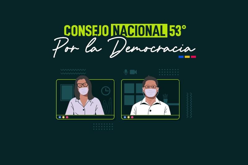 Citación al 53° Consejo Nacional del Partido Por la Democracia | Extraordinario
