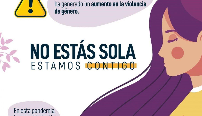 Campaña #NoEstásSola apoya, informa y acompaña a víctimas de violencia de género en Arica