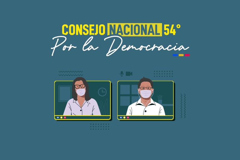 Citación al 54° Consejo Nacional del Partido Por la Democracia | Extraordinario