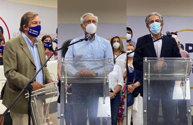 PPD inscribe tres candidatos para consulta ciudadana que definirá al abanderado presidencial del partido