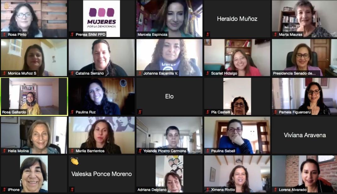 Mujeres PPD lanzan campaña de paridad y reconocen a mujeres destacadas en el Día Internacional de la Mujer
