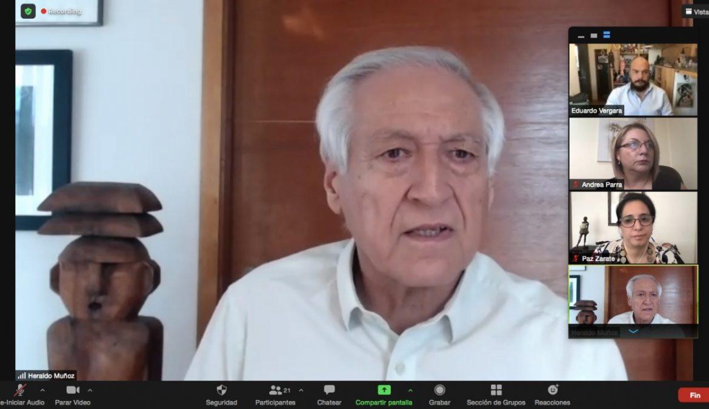 """Heraldo Muñoz presenta 10 medidas para seguridad ciudadana: """"debemos avanzar hacia una convivencia pacífica sin demagogia"""""""