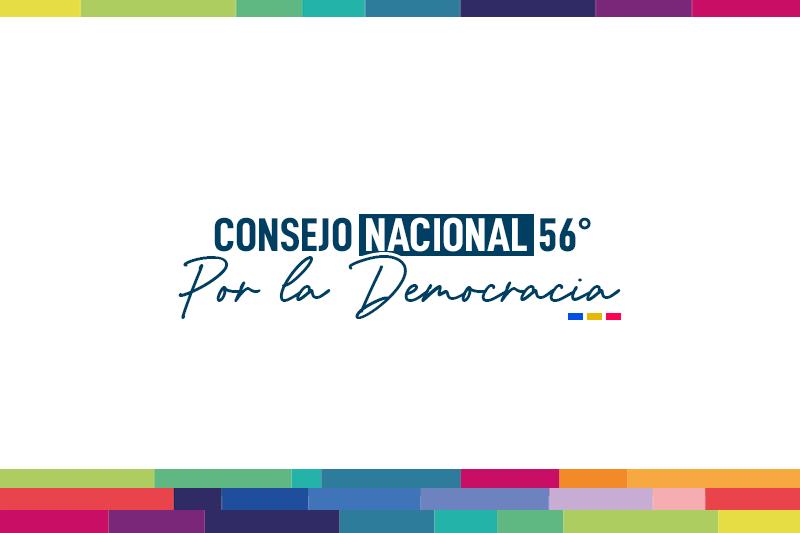 Citación 56° Consejo Nacional Por la Democracia