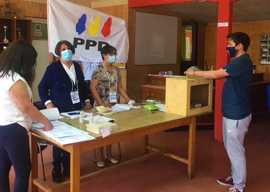 PPD realiza elecciones internas este domingo 01 de agosto y renueva su mesa directiva