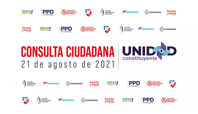 Partidos de Unidad Constituyente inscriben candidaturas para consulta del 21 de agosto y se sortea orden en el voto