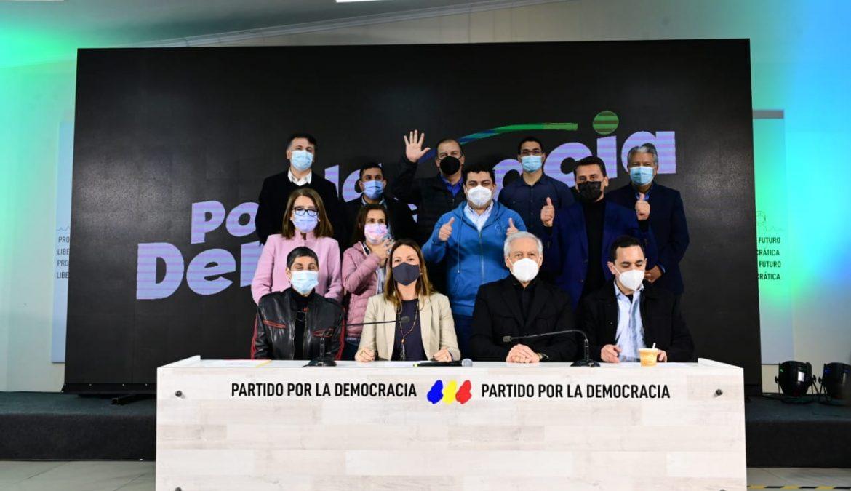 Natalia Piergentili asume oficialmente la presidencia del PPD y asegura que recobrar la confianza ciudadana es el principal desafío