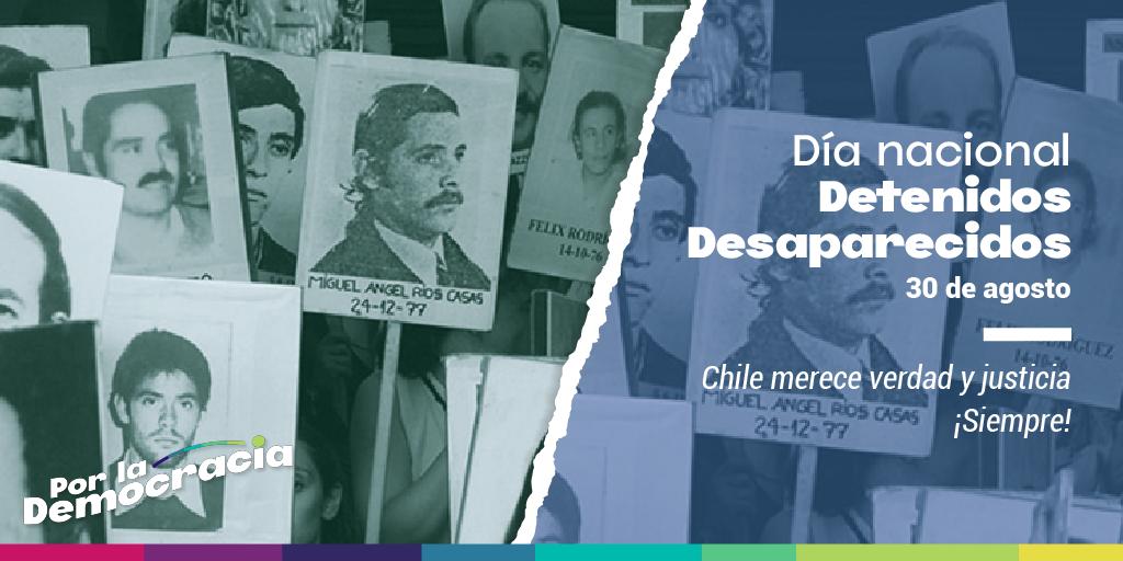 DECLARACIÓN 30 de agosto: Día de las y los detenidos desaparecidos