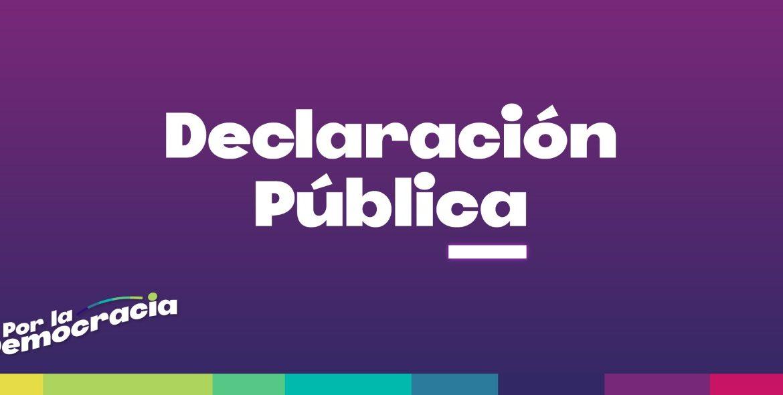 Declaración Pública de Comisión Política por 4to retiro, Acusación Constitucional y Militarización del Wallmapu